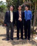 José R., David y Moisés (MAYO 2006)