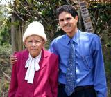 Con mami en 2006