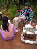 Mami, Jessenia y Jose David