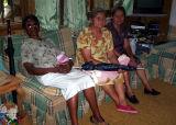 Visita de hermanas de la iglesia