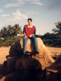 Cerca a la playa de Aguadilla
