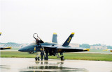 The Blue Angels' support team