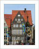 Rolanddenkmal und Beck's am Markt