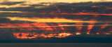 Firestorm Sunset Over Catalina Island