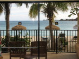 View from our room at Emerald Beach Resort