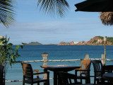 View from the restaurant at Emerald Beach Resort
