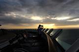 Freedom of the Seas Sunrise Walk
