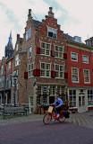 Cycling through Delft