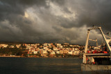 The town of Pylos, on the Peloponnese