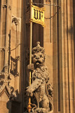 Neo-Gothic exterior of the Palace of Westminster