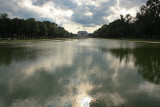 The Reflecting Pool and the Lincoln Memorial