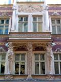 Art Nouveau building facade, Riga