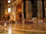 Inside St Peter's The Vatican