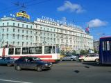 St Petersburg, the words actually say Leningrad