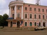 The Post Office and a Lada, Novgorod