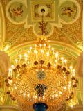 Inside the Peter and Paul Cathedral, St Petersburg