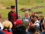 A Beefeater from the Tower of London
