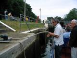 On a Thames lock