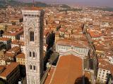 The view from the top of the Duomo, Florence