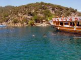 Swimming near Fethiye