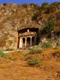 The Lycian Tombs at Fethiye