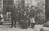 Soldat et Officiers en 1917