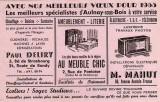 Buvard publicitaire - 1955