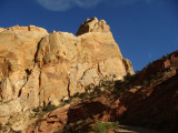 Slot Canyon in Navajo Sandstone