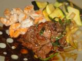 Teriyaki Steak & Shrimp
