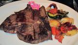 T-Bone Steak with Veggies