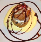 Sweet Bread stuffed with Ice Cream