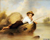 A Lazy Fisherman, 1844, John Gadsby Chapman