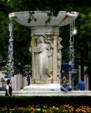 Marble Fountain at Dupont Circle