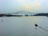 DSC01516 - The Bridge of the Americas ahead