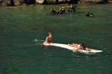 Various aquatic activities