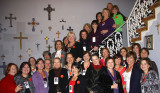Reunion - Class of 1975 and Mrs. Gretchen Kane, president of the Academy