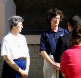 Ursuline Prioress and Academy President Hold Television Interview   January 2, 2006