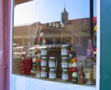 Window in Central Grocery  With Reflections on February 11, 2006