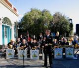 The United States Navy Band Entertains Ravaged New Orleans in February