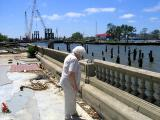U. S. Army Corps of Engineers Install First Floodgate