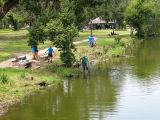 Volunteers Replant Park's Waterways