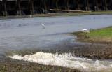 Water Still Flowing Through Spillway Locks - May 27, 2008