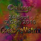 Creative Challenge for 24 Sept thru 7 Oct 2010