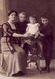 Katarina, Stjepan, Ivan + Josip Vukusa cc 1915