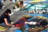 Pavement art 1