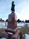 Cemetery in Winter by JolieO