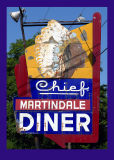 Chief Martindale Diner  by inframan