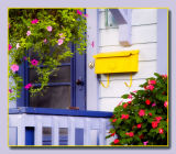 Third - bright yellow mailbox