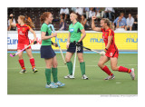 after Anke Kühn's goal against Ireland