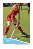 penalty corner by Nina Hasselmann